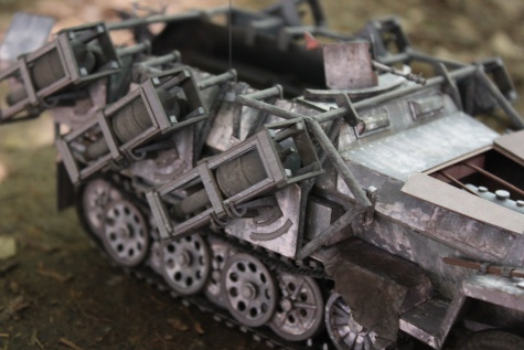 Sd. Kfz. 251/1 Ausf A WURFRAHMEN 40