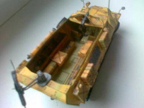 Sdkfz 251.1 provedení D