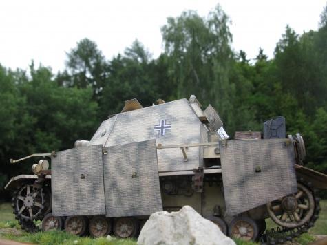 Sd.Kfz.166 BRUMMBAR / GPM / 1:25 Kovář