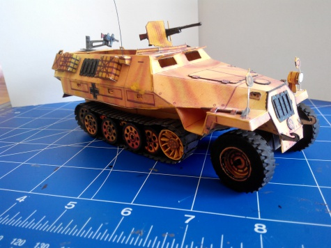 Sdkfz 251/1 provedení D