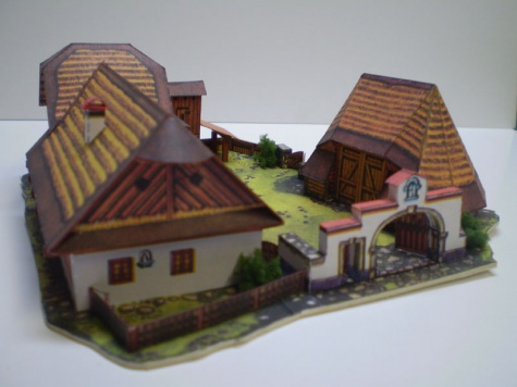 Selská usedlost ze Sedlecka