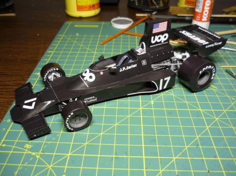 Shadow DN3 - J.P. Jarier - Monako 74