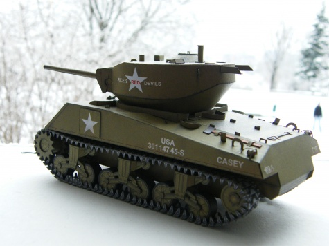 Sherman M4A3E2 Jumbo