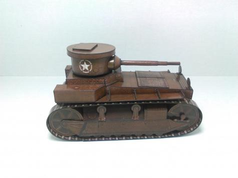 Sherman M4A3E8 - T1 Cunningham