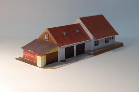 Skautská klubovna - Stará Bělá
