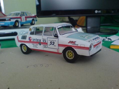 Škoda 110L Rallye - Krejča, Šárka