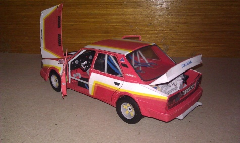 Škoda 130 LR Garáž Racing