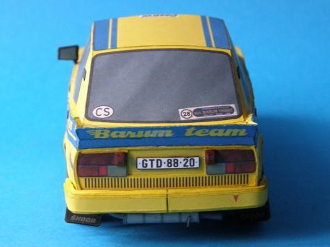 Škoda 130 LR BARUMKA