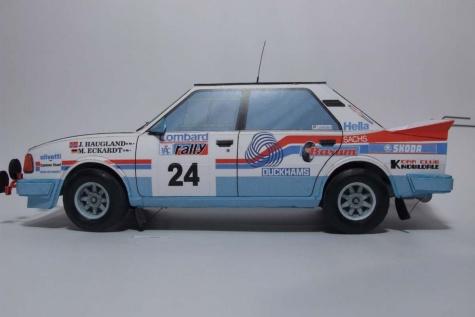 Škoda 130 LR RAC Rally 1986