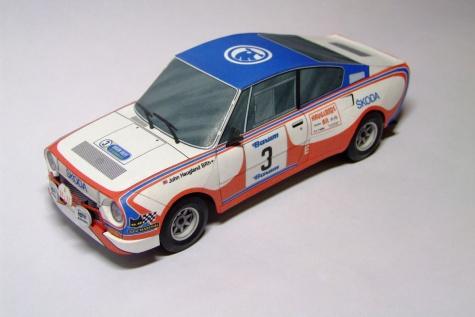Škoda 130 RS Barum Rallye Haugland 1982