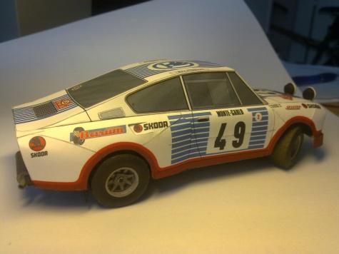 Škoda 130 RS Monte Carlo