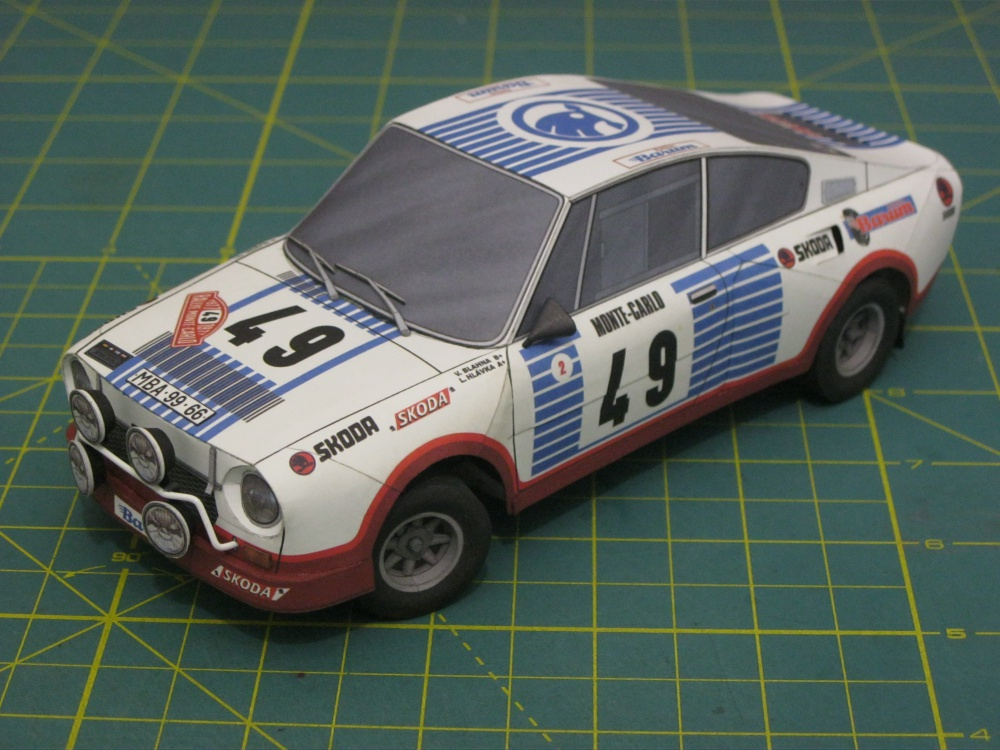 Škoda 130 RS Rally Monte Carlo