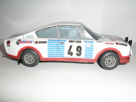 ŠKODA 130RS Rallye Monte Carlo