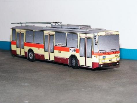Škoda 14Tr 01 Technické muzeum Brno/DP m. Brna 3174