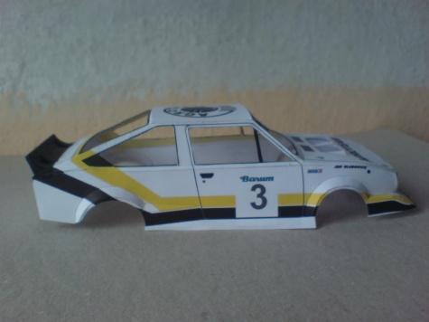 Škoda 160 RS MTX - Bastard