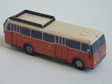 Škoda 706 RO a přívěs B 40