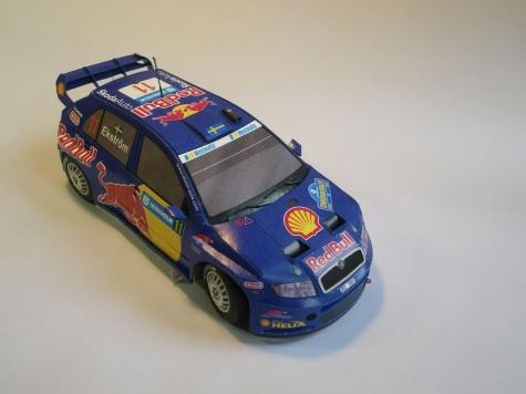 Škoda Fabia WRC Sweden 2005