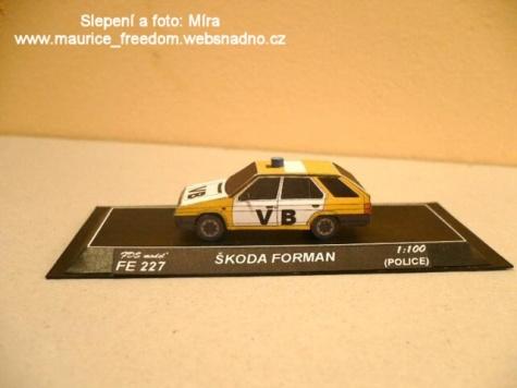 Škoda Favorit, Škoda Forman