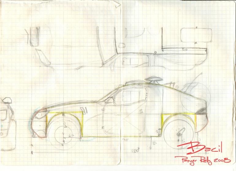 Škoda Horrus (specílní prototip pro Panzer Rally)