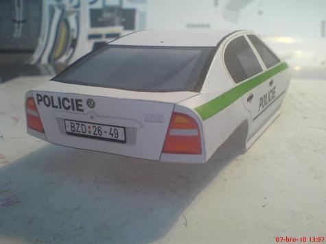 Škoda Octavia Policie Č.R.