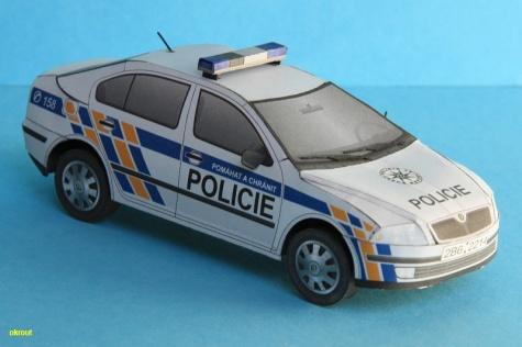 Škoda Octavia Policie ČR
