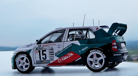 Skoda Fabia WRC Rallye Deutschland 2003