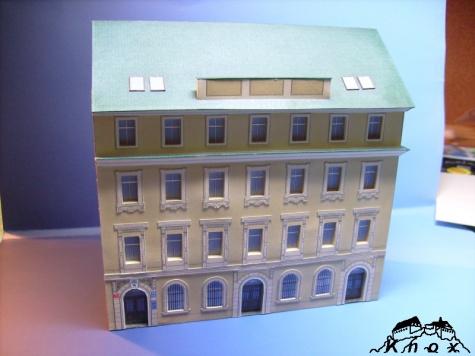Smíchovská radnice - 2.blok