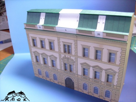 Smíchovská radnice - 1. blok