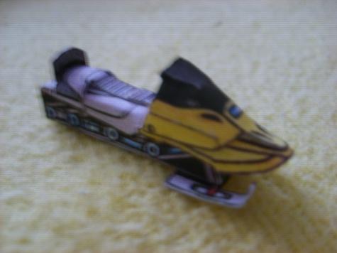 Sněžný skútr - Ski - Doo Alpine III. ^2