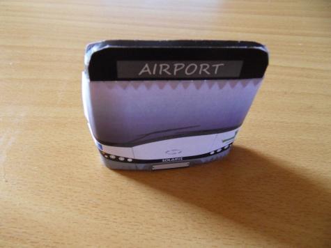 Solaris Urbino 12 airport