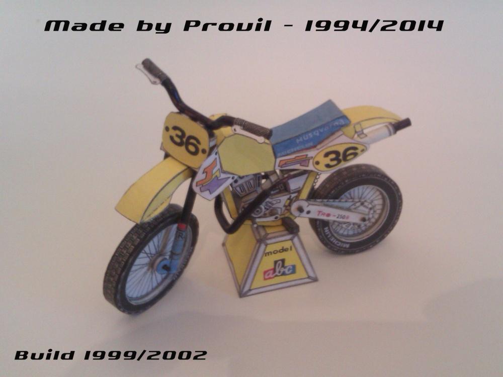 Soutěžní motocykl Husqvarna