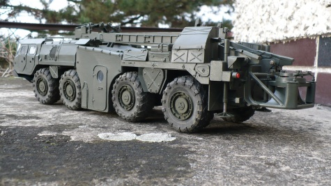 SS-1C SCUD B  MAZ - 543