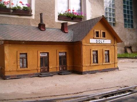 Staniční budova c. k. Státních drah typ LVIIIb