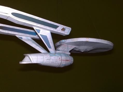 Star Trek Enterprise A 1701 Refit class