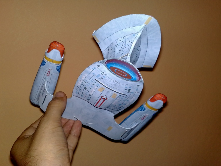 Star Trek Enterprise D 1701 Galaxy class