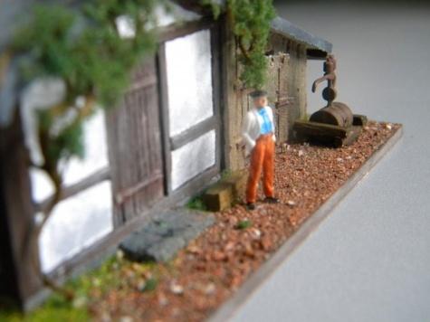 stará železniční dílna s kulnou a pantátou