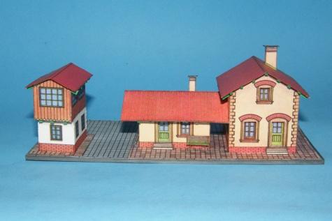 Staré nádraží / Železniční stanice a hradlo