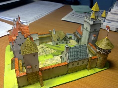 Stavebnice gotického hradu