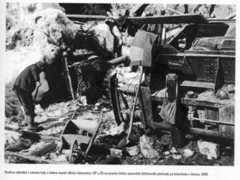 Štěchovice březen 1940