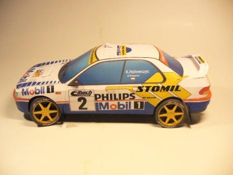 Subaru Impreza 555 Holowczyc Deutschland 1997