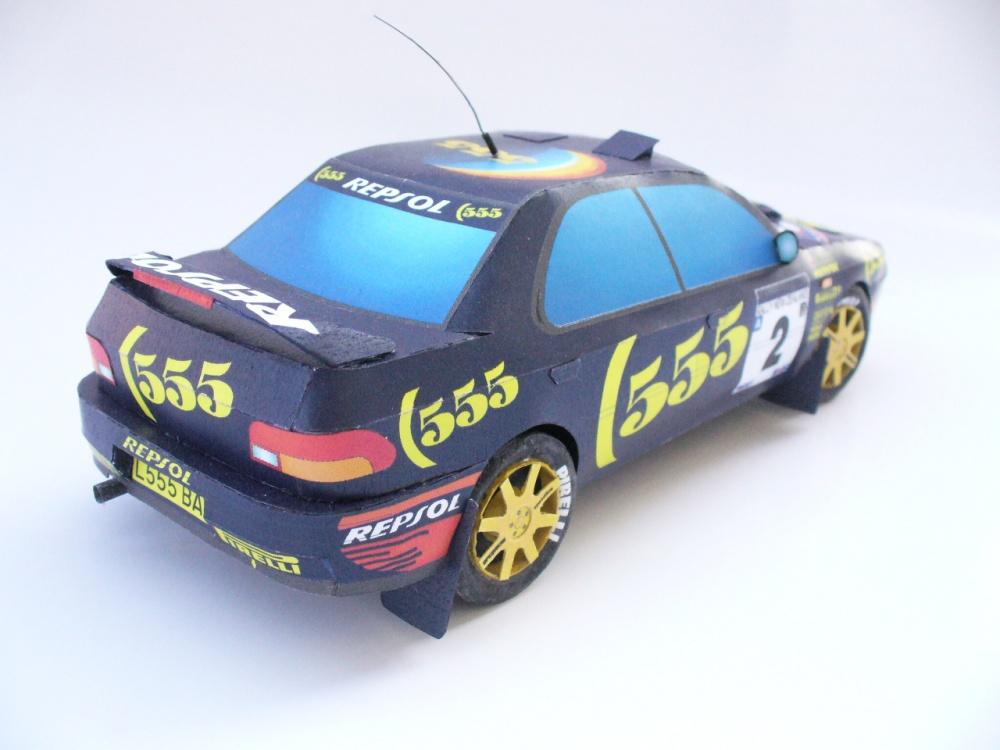 Subaru Impreza WRX McRae NewZealand 1995