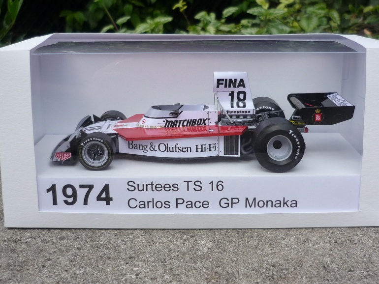 Surtees TS 16 / C.Pace / 1974