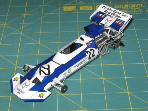 Surtees TS9, 1971 - beta