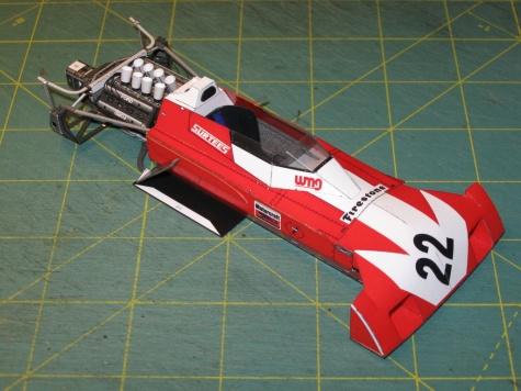 Surtees TS9B Ford, 1971 - beta