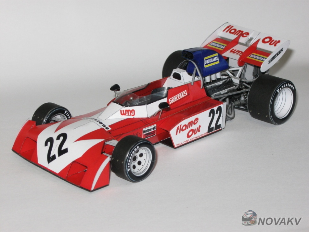 Surtees TS9B Ford, 1971 - beta