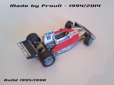 Surtees TS16 - (18) Carlos Pace