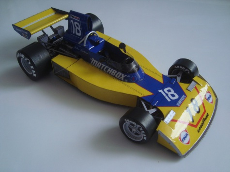 Surtees TS 16/4  - 1975 - John Watson