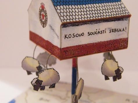 Sušárna na ovce v Srbsku
