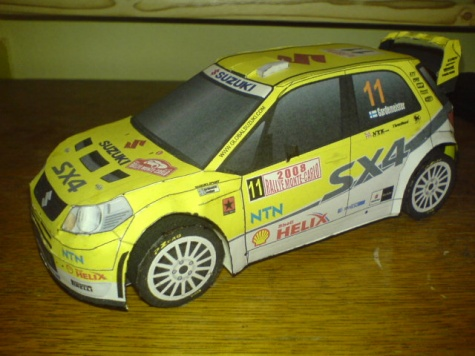 SUZUKI SX4 WRC