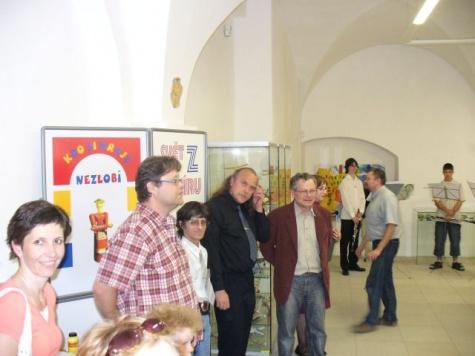 Svět z papíru Jindřichův Hradec 2008